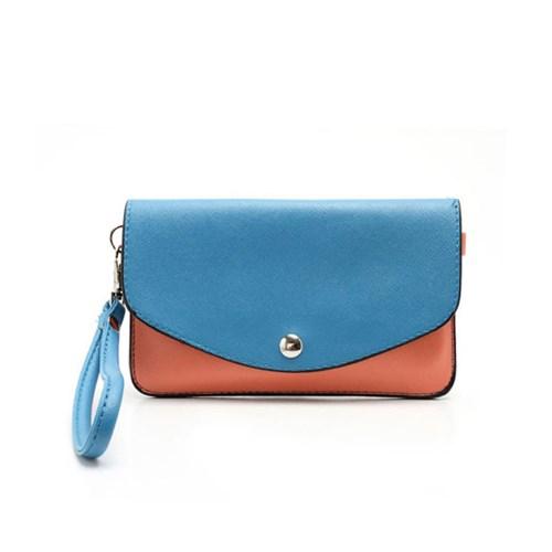 กระเป๋าใส่โทรศัพท์ รุ่น Two-tone Mini Woman Leather