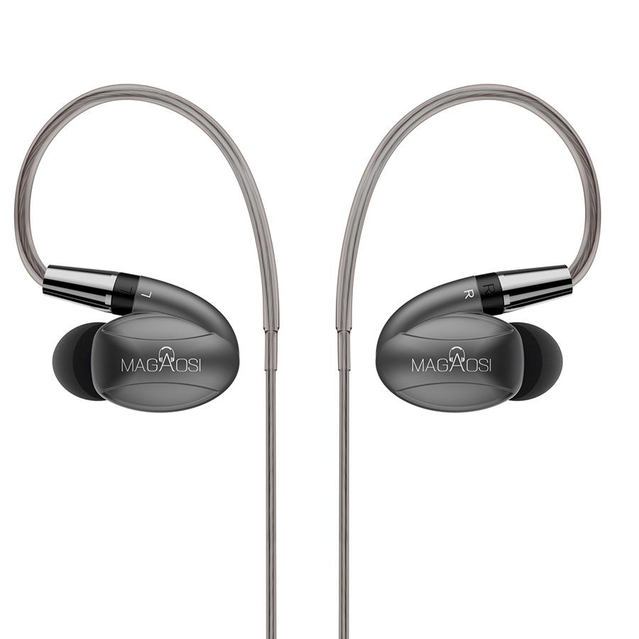 หูฟัง Magaosi K3 หูฟังแบบไฮบริด 3 ไดรเวอร์ (2BA 1Dynamic) คุณภาพครบถ้วนทุกย่าน รายละเอียดไปไกลระยิบระยับ ถอดสายได้เปลี่ยนฝาท่อนำเสียงได้