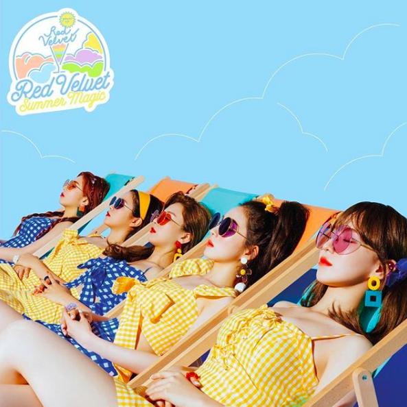 อัลบั้ม #Red Velvet - Summer Mini Album [Summer Magic] (Nomal Edition)