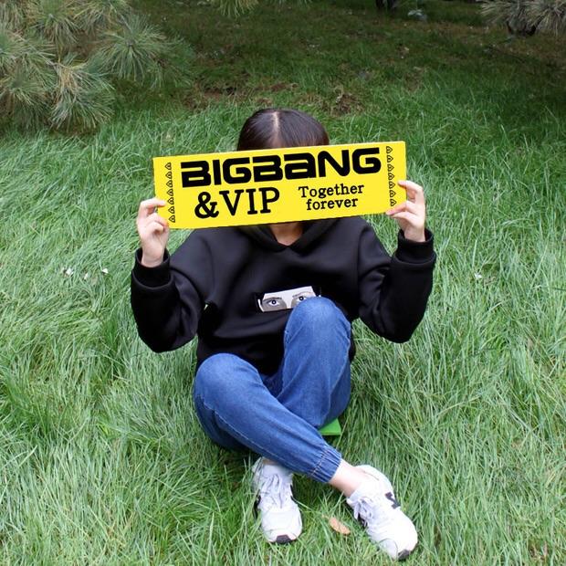 ป้ายเชียร์ BIGBANG