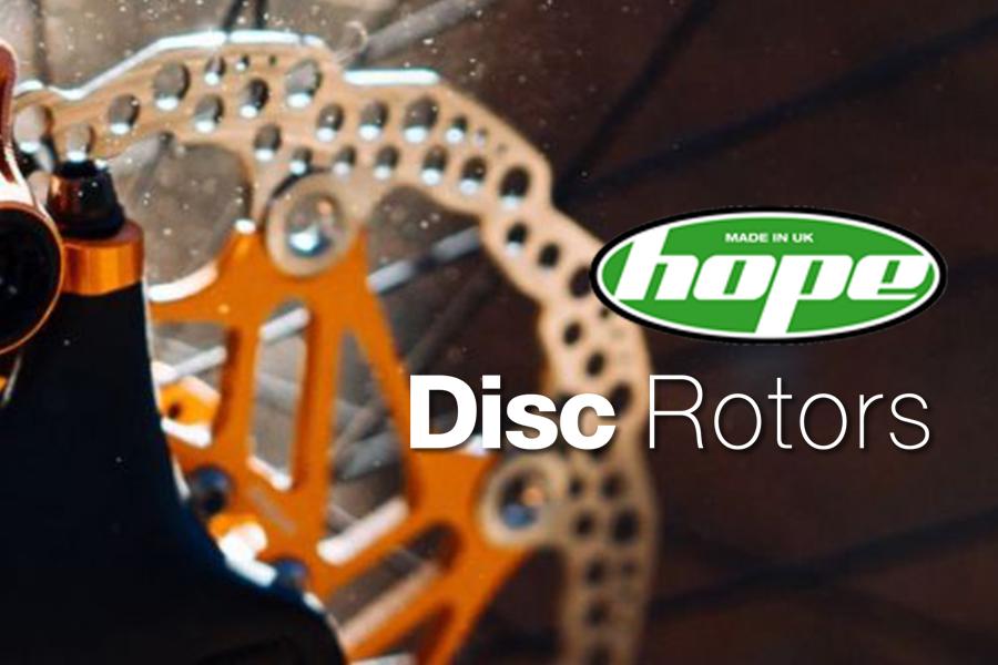 ใบดิสเบรค HOPE DISC ROTORS ,6รู Laser cut and heat treated 2017