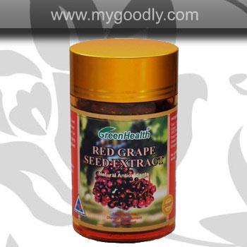 Grape Seed 20000mg (เมล็ดองุ่นสกัดเข้มข้น) 1 ขวด 100 เม็ด ราคา 900 บาท