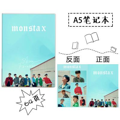 สมุด MONSTA X
