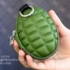 กระเป๋าใส่กุญแจพกพา แบบลูกระเบิด สีเขียวทหาร