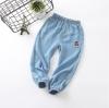 กางเกงขายาวสียีนส์แต่งน้องหมีที่ขา แพ็ค 5 ชิ้น [size 2y-3y-4y-5y-6y]