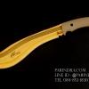 มีดใบตายกรูข่า TODD BEGG Knife Golden Series สีทอง แกร่งสุดๆ (OEM)