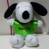 Snoopy peanuts ตุ๊กตาสนูปี้สวมเสื้อสีเขียวเบอร์ 06