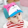 หมวกน้องหมีสีชมพู แพ็ค 3 ชิ้น