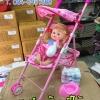 รถเข็นตุ๊กตา+ตุ๊กตาฉี่ได้ ราคาพิเศษ
