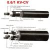 สายไฟ FD-0.6/1 KV-CV 2X2.5 SQMM.
