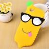 เคสซิลิโคนกล้วยใส่แว่น ไอโฟน 6/6s 4.7 นิ้ว