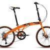 จักรยานพับได้ TRINX DOLPHIN1.0 เฟรมเหล็ก ดิสเบรคหน้าหลัง 7 สปีด 2017