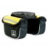 Vincita B029T กระเป๋าเบนโตะคู่เหลี่ยมมีซองใส่มือถือคาดเฟรมและสเต็ม(ผ้าทาโปลีน)