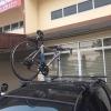 แร็คจักรยาน บนหลังคา SBT Roof Rack สำหรับรถเก๋ง ใส่จักรยานได้ 3 คัน สีดำ