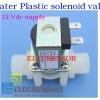 Plastic solenoid valve