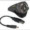 ไฟหน้า Super D,USB ชาร์จ รุ่น S-803
