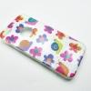 เคสยางนิ่มกากเพชรพิมพ์ลาย ไอโฟน 6/6s 4.7 นิ้ว-ลายดอกไม้