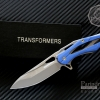 มีดพับ Transformers ทรานส์ฟอร์เมอร์ รุ่น G0-BL ด้ามสีฟ้า ของแท้ 100%