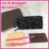 Louis Vuitton Multicolor Zippy Wallet กระเป๋าสตางค์หลุยส์ ใบยาว ซิบรอบ **เกรดAAA+**