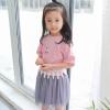 ชุดเซตเสื้อสีชมพูพร้อมสร้อยรูปดาว [size 2y-3y-4y-5y]
