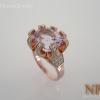 แหวนเงินอเมทิสต์ชมพู(Sulver ring pink amethyst)