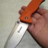 มีดพับ Ganzo กานโซ่ รุ่น G722 OR สีส้มแสด หนาถึก แข็งแกร่ง ของแท้ 100%
