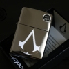 ไฟแช็ค Zippo 29486 Assassins Creed Chronicles High Polished Chrome แท้นำเข้า 100%