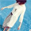 [พร้อมส่ง] MM7150 เสื้อคลุมกันแดดตัวยาว ใส่คลุมกันแดดหรือทับชุดว่ายน้ำกันโป๊ได้ค่ะ