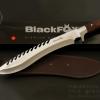 มีดใบตาย Blackfox Black FOX สันมีดหยัก ขนาด 17 นิ้ว มีดเดินป่าทรงกรูข่า Kukri