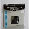 Shimano Rear Derailleur Pulley Set Y56398030