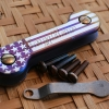 Key Bar Starbar Anodized Treated Titanium
