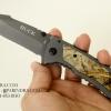 มีดพับ Buck X67 ด้ามประกับลายพราง สวยงาม OEM