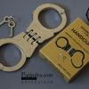 กุญแจมืออย่างดี แบบเดียวตำรวจใช้ Handcuffs Double Lock ทนทาน มีกุญแจให้สองดอก