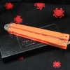 "Bear OPS Bear-Song II Butterfly Knife Orange G-10 (5.4"" Trainer) B-201-OR4-P"