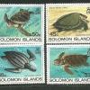 แสตมป์หมูเกาะโซโลมอน ชุด Sea Turtles เต่าทะเลชนิดต่างๆ ปี 1983 - Solomon islands