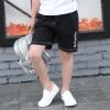 กางเกงขาสามส่วนสีดำแต่งลายตัวหนังสือสีขาว แพ็ค 3 ชิ้น [size 4y-5y-6y]