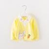 เสื้อแขนยาวลายกระต่ายสีเหลือง แพ็ค 4 ชิ้น [size 6m-1y-2y-3y]