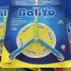 Spyderco BaliYo Flip Pen USA (Blue & Green) with Instructional DVD - YUS102