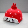 หมวกเด็กลายกระต่ายสีแดง แพ็ค 3 ชิ้น