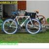 จักรยานไฮบริด Coyote 700C 21 สปีด เฟรมอลูมิเนียม