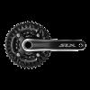 จาน SLX, FC-M7000-10-3, 10-Speed, 3 ชั้น, 40/30/22T, 170MM, 175MM.