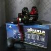 รอก OKUMA METALOID M-5Nll-R สีแดง 2 Speed หน้าสปูลแคบ