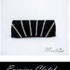 Sale พร้อมส่ง Evening Clutch กระเป๋าออกงาน สีดำ