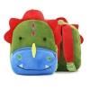 กระเป๋าไดโนเสาร์สีเขียว