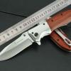 มีดพับสำหรับพกพาขนาดกลาง Browning รุ่น Da51 ด้ามไม้ (OEM)