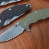 RHK Jurassic Stonewashed Finish OD Green G-10