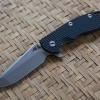 "RHK XM18 3.5"" Spanto Stonewashed Blade Black G-10"