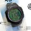 นาฬิกาข้อมือ WORLD TIME รุ่นสะท้อนแสงกลางวัน ทรง Sport