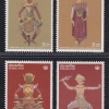 แสตมป์อนุรักษ์มรดกไทย ชุด 15 หุ่นกระบอก หุ่นหน้าวัง ปี 2545 (ยังไม่ใช้)