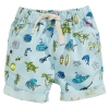 กางเกงฮาวายขาสั้นสีฟ้าลายทะเล แพ็ค 6 ชิ้น [size 2y-3y-4y-5y-6y-7y]